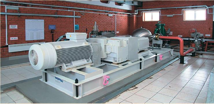Рис. 3. Внешний вид насосного агрегата объемного действия производства Wepuko