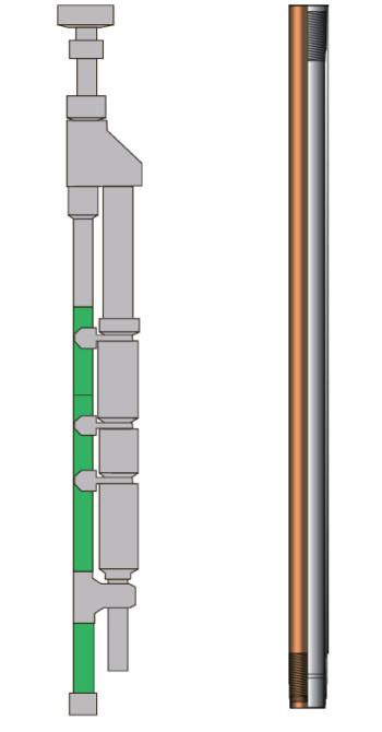 Рис. 6. Байпасные трубы