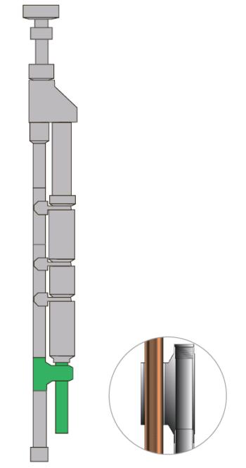 Рис. 7. Опорный блок насоса