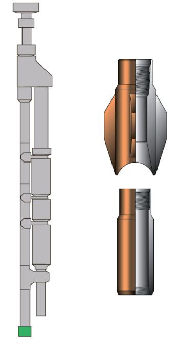 Рис. 8. Геофизическая воронка