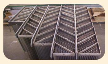 Рис. 3. Блок кассет коалесцирующего элемента