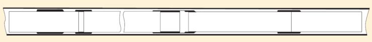 Рис. 6. Извлекаемый резьбовой пластырь