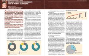 Повышение энергетической эффективности в ПАО «НК «Роснефть». Цели и задачи