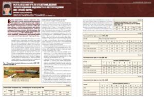 Результаты ОПИ труб из сталей повышенной эксплуатационной надежности на месторождениях ООО «ЛУКОЙЛ-ПЕРМЬ»