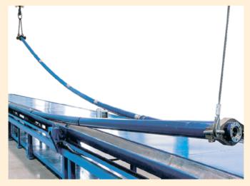 Рис. 15. Система УЭЦН с возможностью прохождения участков кривизны до 25° на 30 м включительно