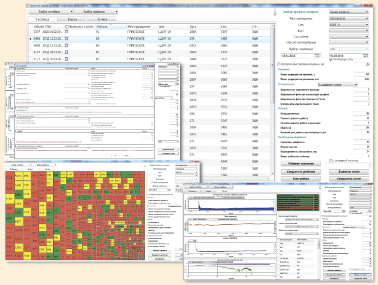 Рис. 7. Программный модуль для предварительной подготовки данных авто-ГДИС