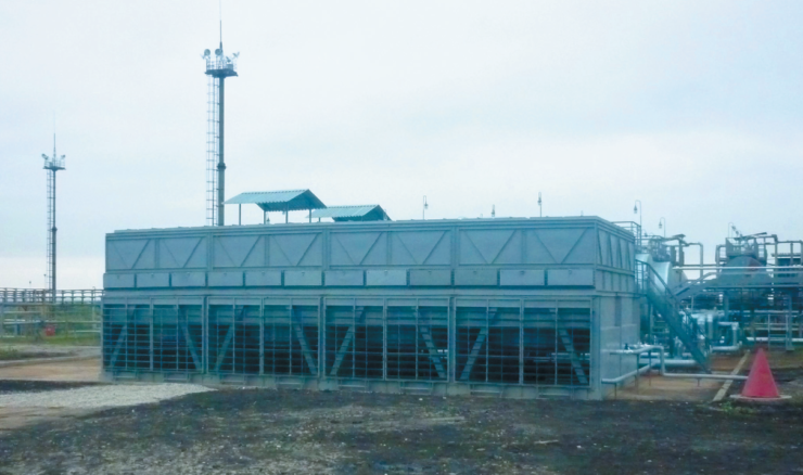 Рис. 4. Аппарат воздушного охлаждения производства АО ОМК