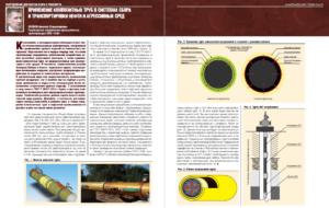 Применение композитных труб в системах сбора и транспортировки нефти и агрессивных сред