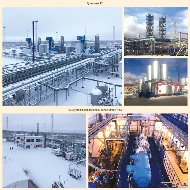 Рис. 2. Реконструкция и расширение производственных мощностей Усинского ГПЗ