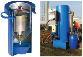 Рис. 2. Технология флотационной очистки воды AWAS International GmbH (Германия)