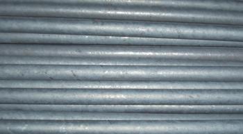 Рис. 9. Готовые перекатанные прутки, отсортированные по маркам стали