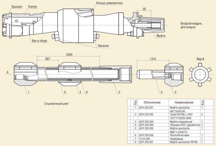 Рис. 12. Модернизация элементов технической схемы ОРЭ