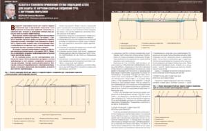 Области и технология применения втулки подкладной Aitech для защиты от коррозии сварных соединений труб с внутренним покрытием
