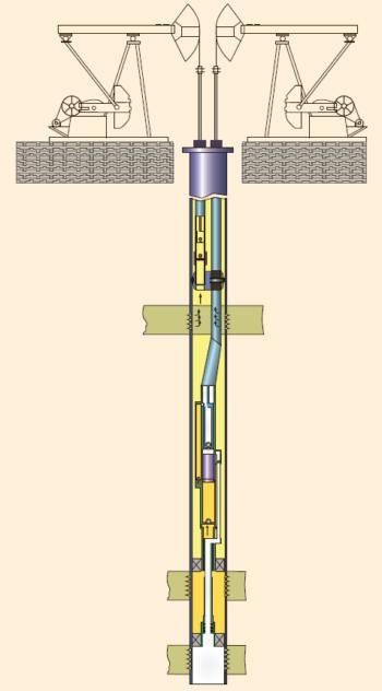 Рис. 11. Двухлифтовая установка для ОРЭ трех объектов