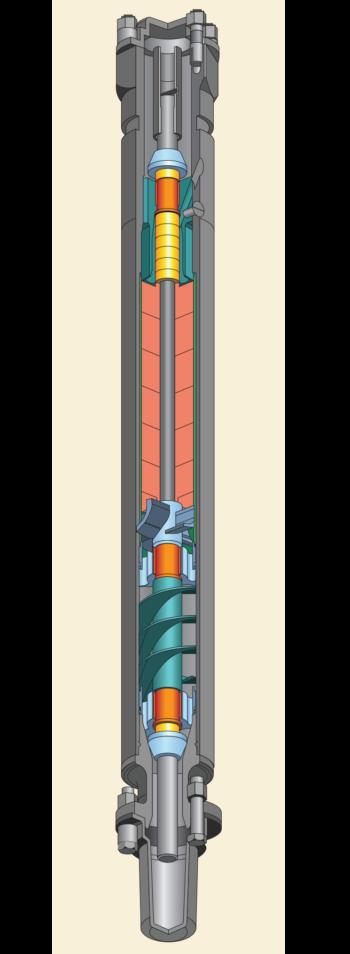 Рис. 20. Газосепаратор ЦГС