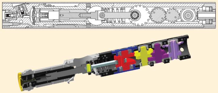 Рис. 4. Модернизированный привод для УЭДН5
