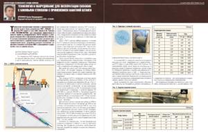 Технология и оборудование для эксплуатации скважин с боковыми стволами с применением канатной штанги