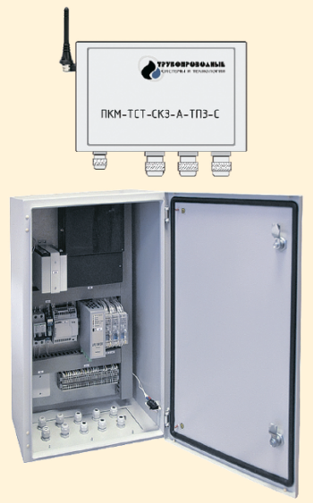Рис. 4. Подсистема коррозионного мониторинга ПКМ-ТСТ-СКЗ