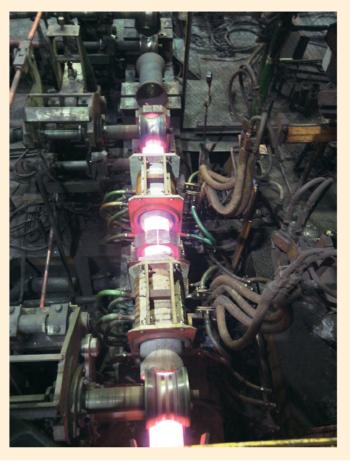 Рис. 5. Индукторная установка