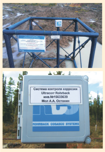 Рис. 6. ОПИ оборудования для коррозионного мониторинга