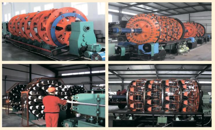 Рис. 7. Оборудование для производства среднего усиленного слоя