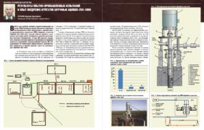 Результаты опытно-промышленных испытаний и опыт внедрения агрегатов шурфных АЦНПШ5-200-1000