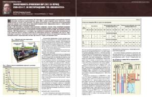 Эффективность применения ВИР (ЭСС) за период 2009-2014 гг. на месторождениях ТПП «Повхнефтегаз»
