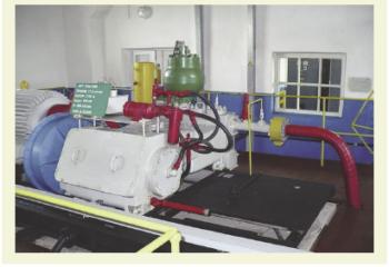 Рис. 2. Насосный агрегат объемного действия АНТ 150х1500