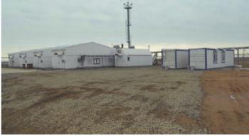 Рис. 4. БКНС с газовым приводом на м/р Каракудук в Республике Казахстан (оператор: ТОО «Каракудукмунай»)