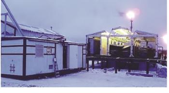 Рис. 6. БНС3х1000-2100 на месторождении ТПП «Ухтанефтегаз» (ООО «ЛУКОЙЛ-Коми»)