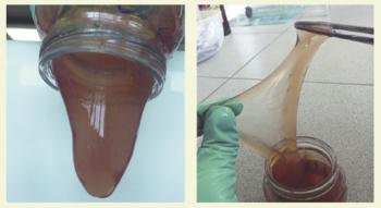Рис. 7. Вязкоупругий состав NGT-Chem-1