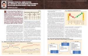 Концепция и результаты «новой стратегии» ОАО «Томскнефть» ВНК по повышению эффективности эксплуатации механизированного фонда скважин