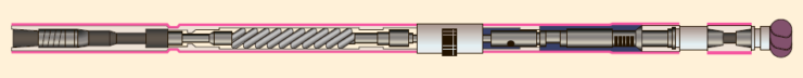 Рис. 1. Общий вид ВЗД для бурения скважин