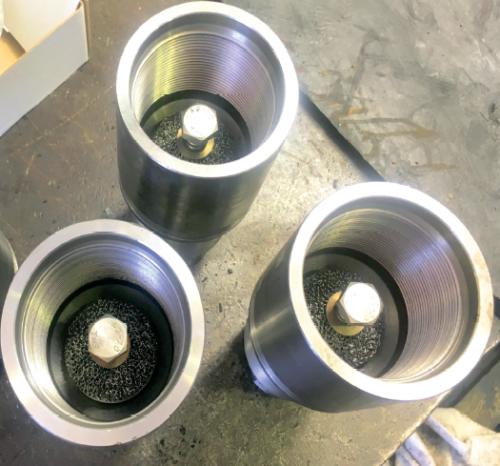 Рис. 2. Модернизированный обратный клапан с защитным элементом