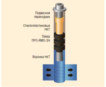 Рис. 2. НКТ для нагнетательных и утилизационных скважин