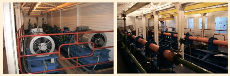 Рис. 2. Установки с наземным электродвигателемРис. 2. Установки с наземным электродвигателем