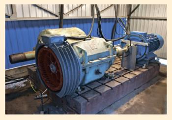 Рис. 3. Стенд для испытаний бестрансмиссионного энергоэффективного привода станка-качалки