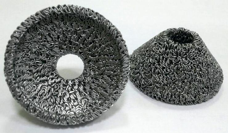 Рис. 3. Защитный элемент из проволочно-проницаемого материала