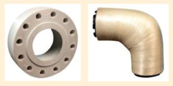 Рис. 3. НКТ для добывающих скважин с УЭЦН Рис. 4. Стеклопластиковые трубопроводы