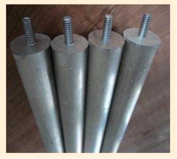 Рис. 5. Протекторный анодный электрод
