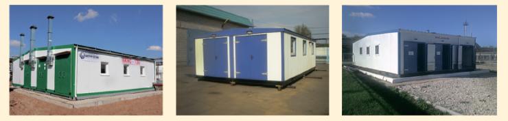 Рис. 6. Блочные кустовые насосные станции (БКНС)