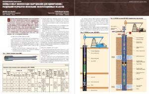 Схемы и опыт эксплуатации оборудования для одновременно-раздельной разработки нескольких эксплуатационных объектов