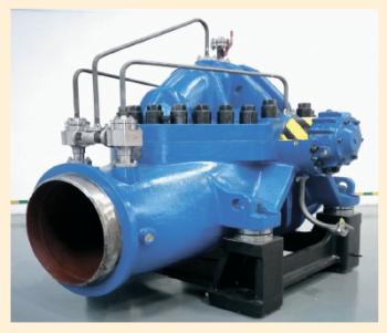 Рис. 2. Магистральный насос серии НМПП 3600-230- 500/400-С-ХЛ1 для транспортировки нефти