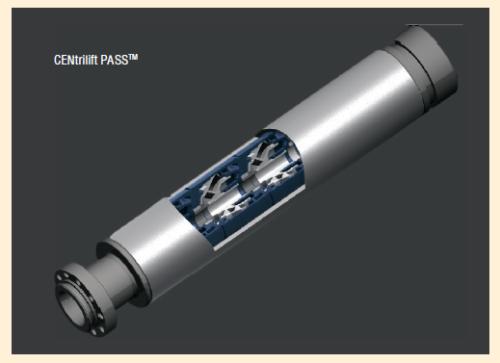 Рис. 2. Технология FLEXPumper 85,85 мм