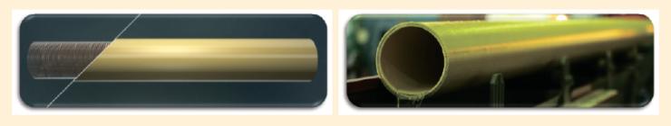 Рис. 1. Металлополимерная труба
