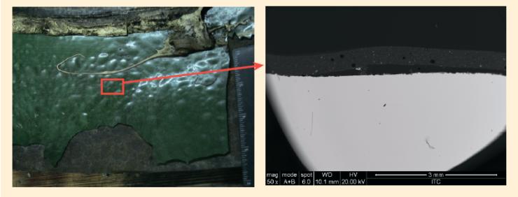 Рис. 1. Нефтесборный трубопровод Ø426х8 мм, Правдинское месторождение, НнО – 1 год