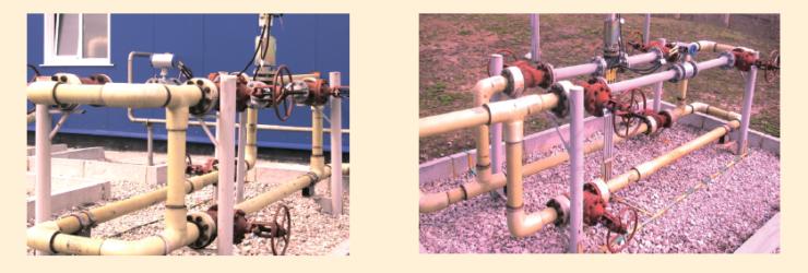 Рис. 5. Строительство трубопроводов из неметаллическихРис. 5. Строительство трубопроводов из неметаллических материалов