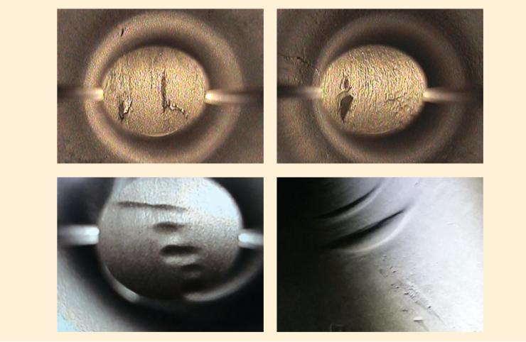 Рис. 6. Дефекты труб, выявленные при входном контроле