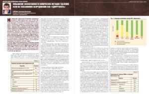 Повышение эффективности химических методов удаления АСПО на скважинном оборудовании ОАО «Удмуртнефть»