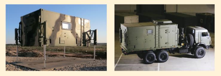 Рис. 2. Кузов-контейнер постоянного объема